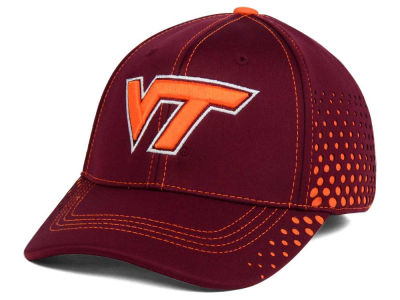 Virginia Tech Hokies Top of the World NCAA Fade Stretch Cap