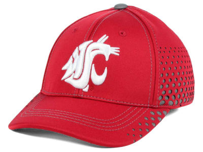 Washington State Cougars Top of the World NCAA Fade Stretch Cap