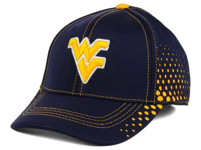 West Virginia Mountaineers NCAA Fade Stretch Cap