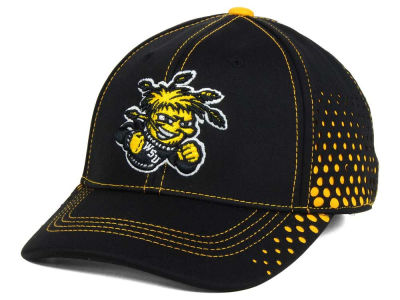 Wichita State Shockers Top of the World NCAA Fade Stretch Cap