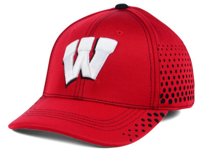 Wisconsin Badgers NCAA Fade Stretch Cap