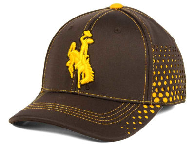 Wyoming Cowboys NCAA Fade Stretch Cap