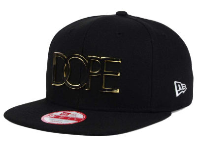 Dope 24K Gold 9FIFTY Snapback Cap