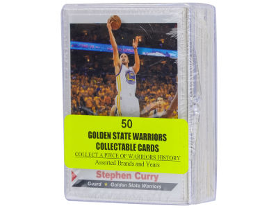 Golden State Warriors 50 Card Pack-Assorted