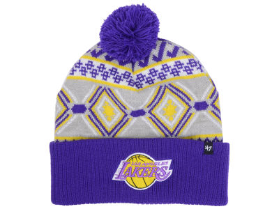 Los Angeles Lakers NBA Hardwood Classics Up North Knit