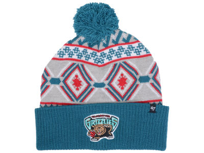 Vancouver Grizzlies '47 NBA Hardwood Classics Up North Knit