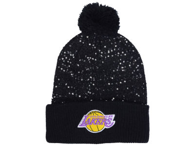 Los Angeles Lakers NBA Women's Hardwood Classics Glint Knit