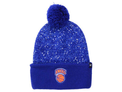 New York Knicks NBA Women's Hardwood Classics Glint Knit