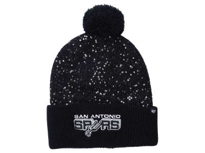 San Antonio Spurs NBA Women's Hardwood Classics Glint Knit