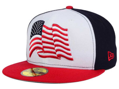 United States of America Waving Flag 59FIFTY Cap