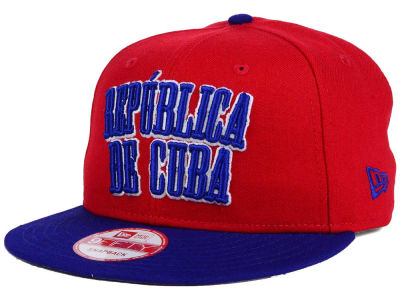 Cuba Cuba Country Wordmark 9FIFTY Snapback Cap