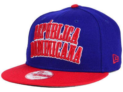 Dominican Republic Dominican Republic Country Wordmark 9FIFTY Snapback Cap