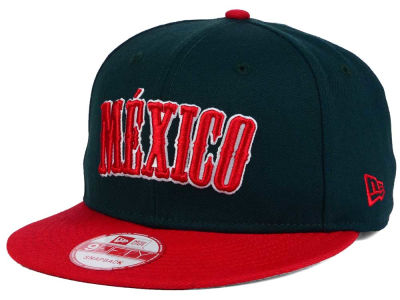 Mexico Country Wordmark 9FIFTY Snapback Cap