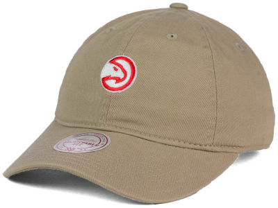 Atlanta Hawks Mitchell & Ness NBA Dad Strapback Hat