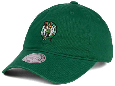 Boston Celtics Mitchell & Ness NBA Dad Strapback Hat