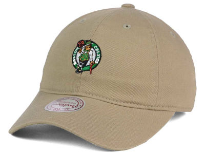 Boston Celtics Mitchell and Ness NBA Dad Hat Strapback