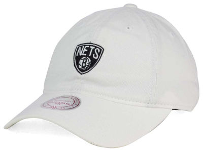 Brooklyn Nets Mitchell & Ness NBA Dad Strapback Hat