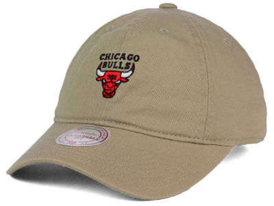 Chicago Bulls Mitchell and Ness NBA Dad Hat Strapback
