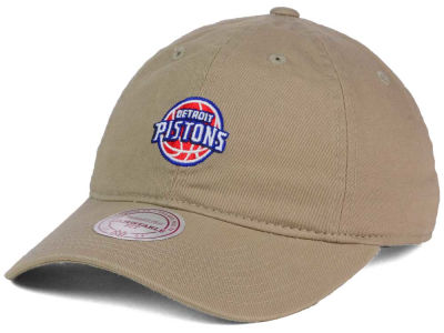 Detroit Pistons Mitchell and Ness NBA Dad Hat Strapback