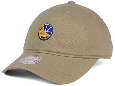 Golden State Warriors Mitchell and Ness NBA Dad Hat Strapback