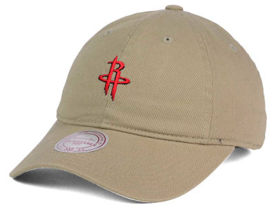 Houston Rockets Mitchell and Ness NBA Dad Hat Strapback