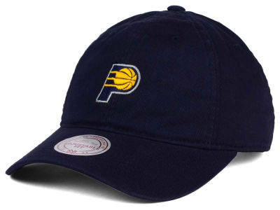Indiana Pacers Mitchell and Ness NBA Dad Hat Strapback