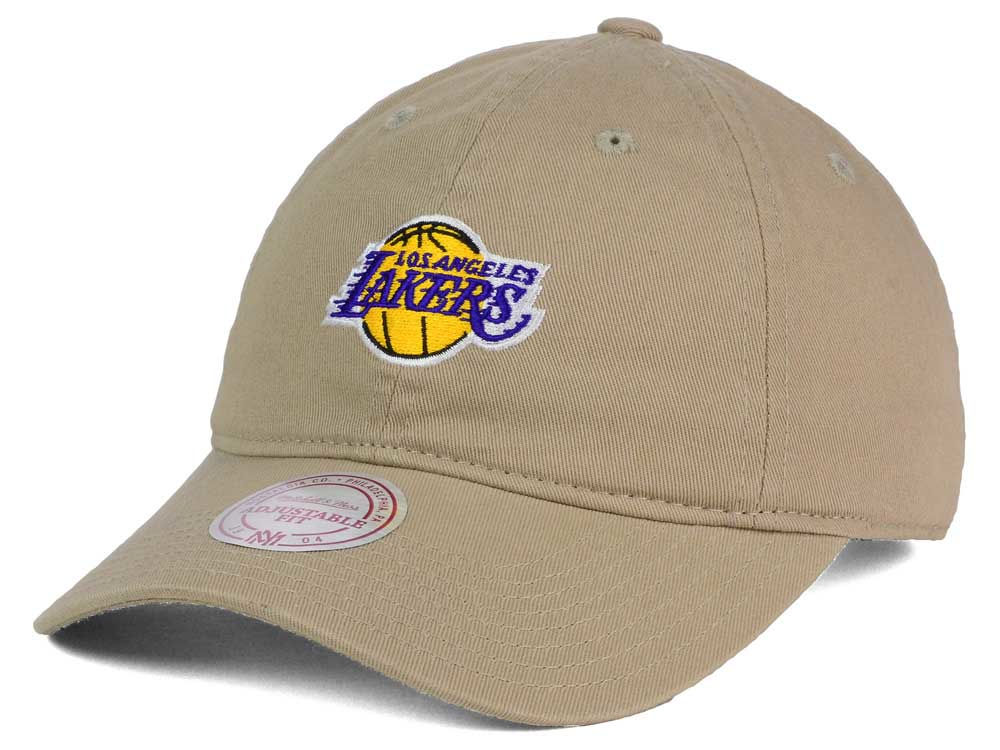 cheap for discount 17977 a2dda ... usa coupon online for sale 13aa0 c8c71 los angeles lakers mitchell ness  nba dad strapback hat