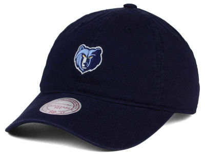 Memphis Grizzlies Mitchell and Ness NBA Dad Hat Strapback