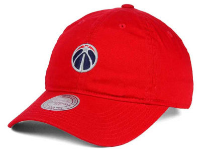 Washington Wizards Mitchell and Ness NBA DH Strapback Cap
