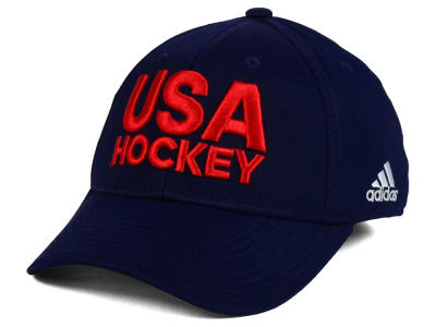 USA Hockey adidas World Cup of Hockey Locker Room Flex Cap