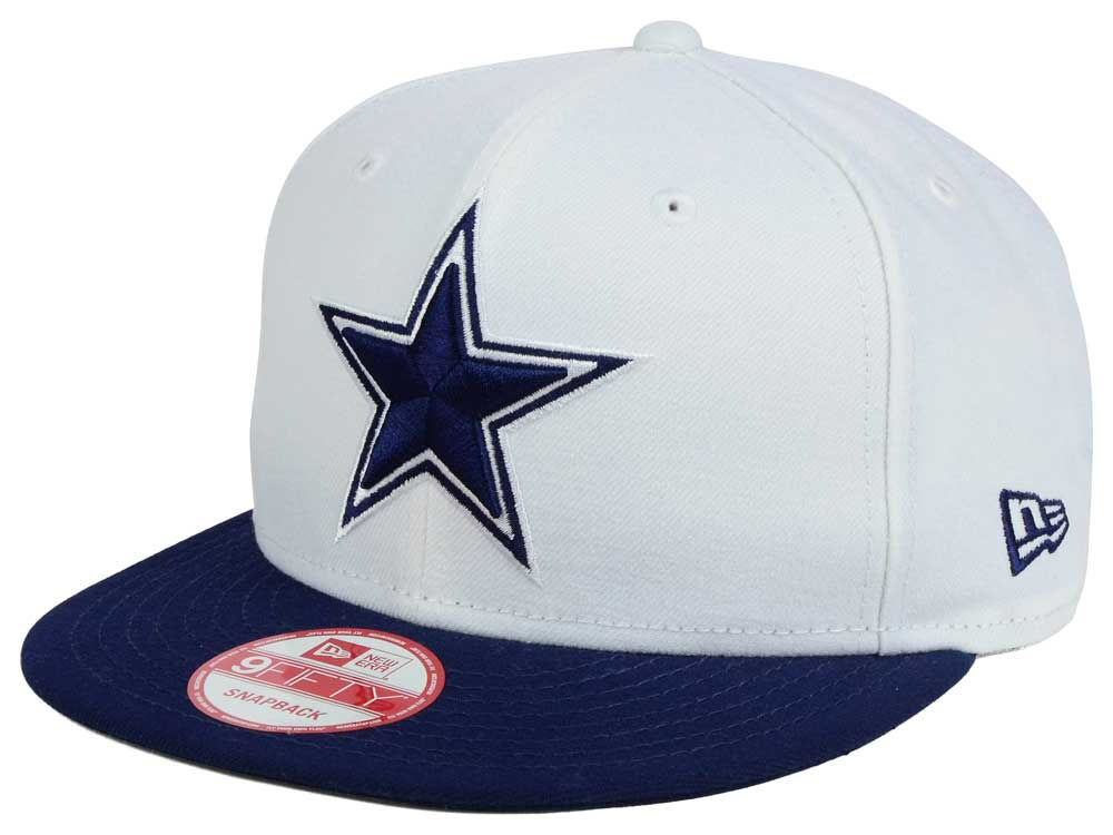 Dallas Cowboys New Era NFL Two Tone 9FIFTY Snapback Cap  7f9d2c749