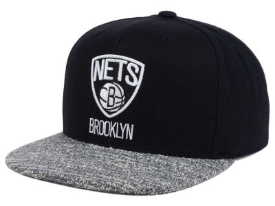 Brooklyn Nets NBA Color Gray Noise Snapback Cap