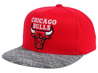 Chicago Bulls NBA Color Gray Noise Snapback Cap
