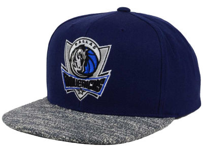 Dallas Mavericks NBA Color Gray Noise Snapback Cap