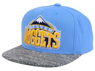 Denver Nuggets NBA Color Gray Noise Snapback Cap