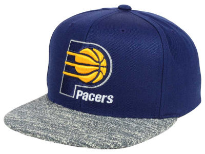 Indiana Pacers NBA Color Gray Noise Snapback Cap