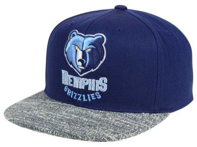 Memphis Grizzlies NBA Color Gray Noise Snapback Cap