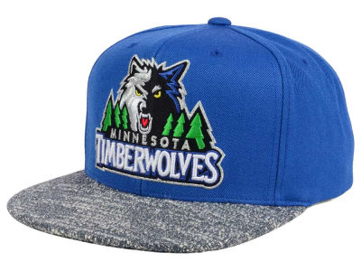 Minnesota Timberwolves NBA Color Gray Noise Snapback Cap