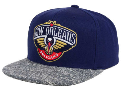 New Orleans Pelicans NBA Color Gray Noise Snapback Cap