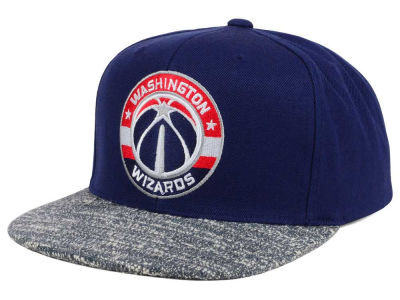 Washington Wizards NBA Color Gray Noise Snapback Cap