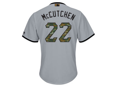 Pittsburgh Pirates Andrew McCutchen MLB Men's 2016 USMC Memorial Day Cool Base Jersey