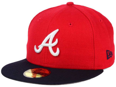 Atlanta Braves New Era MLB Alternate Collection 59FIFTY Cap