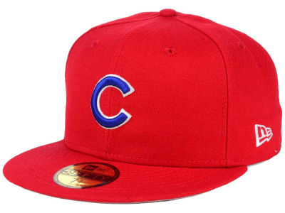 Chicago Cubs New Era MLB Alternate Collection 59FIFTY Cap