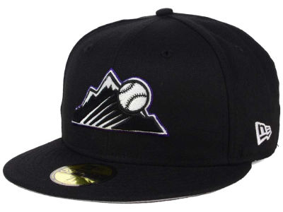 Colorado Rockies New Era MLB Alternate Collection 59FIFTY Cap