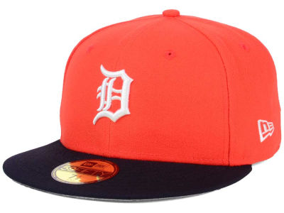 Detroit Tigers New Era MLB Alternate Collection 59FIFTY Cap