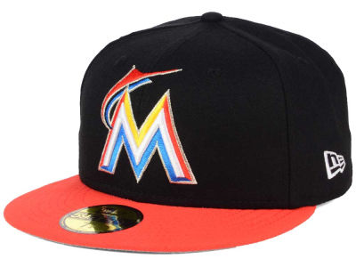 Miami Marlins New Era MLB Alternate Collection 59FIFTY Cap