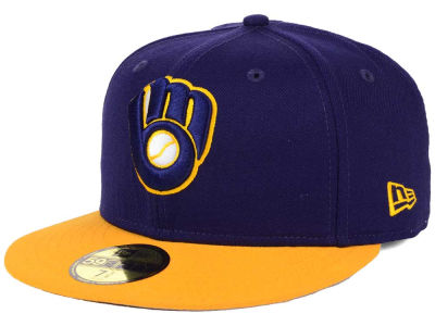Milwaukee Brewers New Era MLB Alternate Collection 59FIFTY Cap