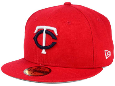 Minnesota Twins New Era MLB Alternate Collection 59FIFTY Cap
