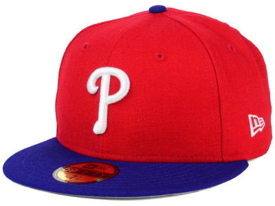 Philadelphia Phillies New Era MLB Alternate Collection 59FIFTY Cap