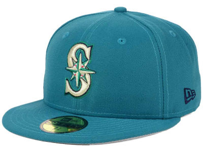 Seattle Mariners New Era MLB Alternate Collection 59FIFTY Cap
